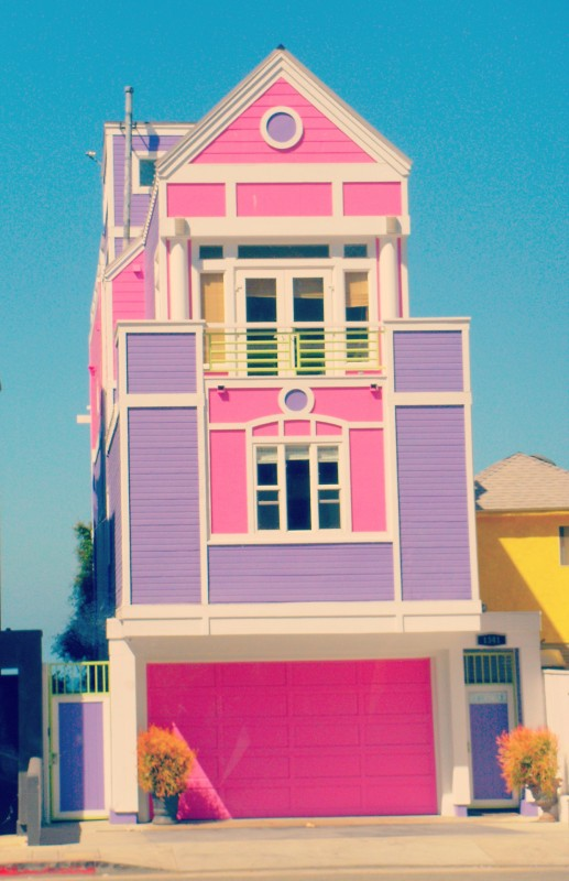 Barbie creator Ruth Handler's Santa Monica home. TSM.