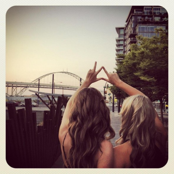 Separated by rival schools, connected by sisterhood. TSM.